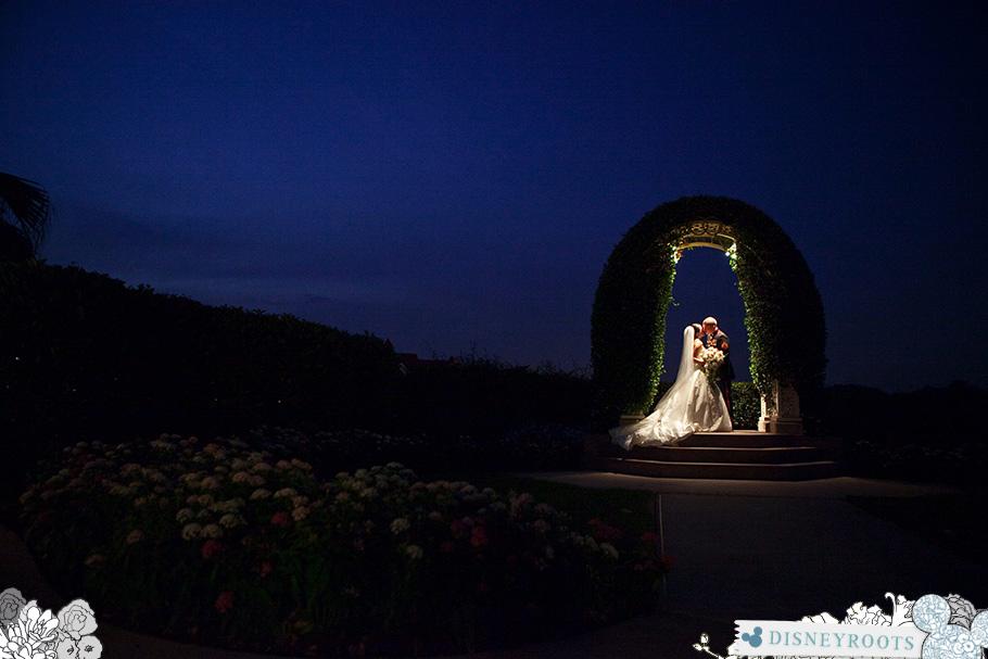Tara and John Walt Disney World Wedding Pavilion Grand Floridian