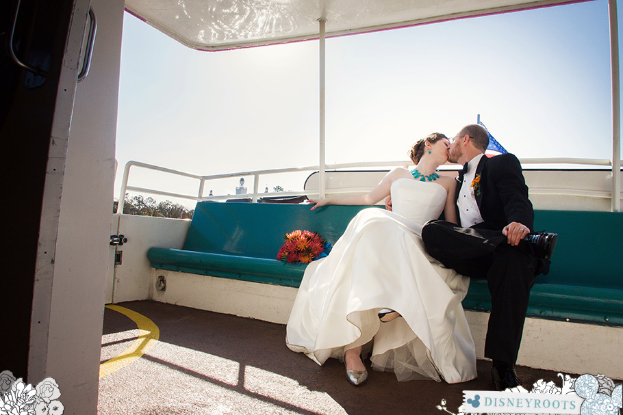 Disney Wedding Friendship Boat