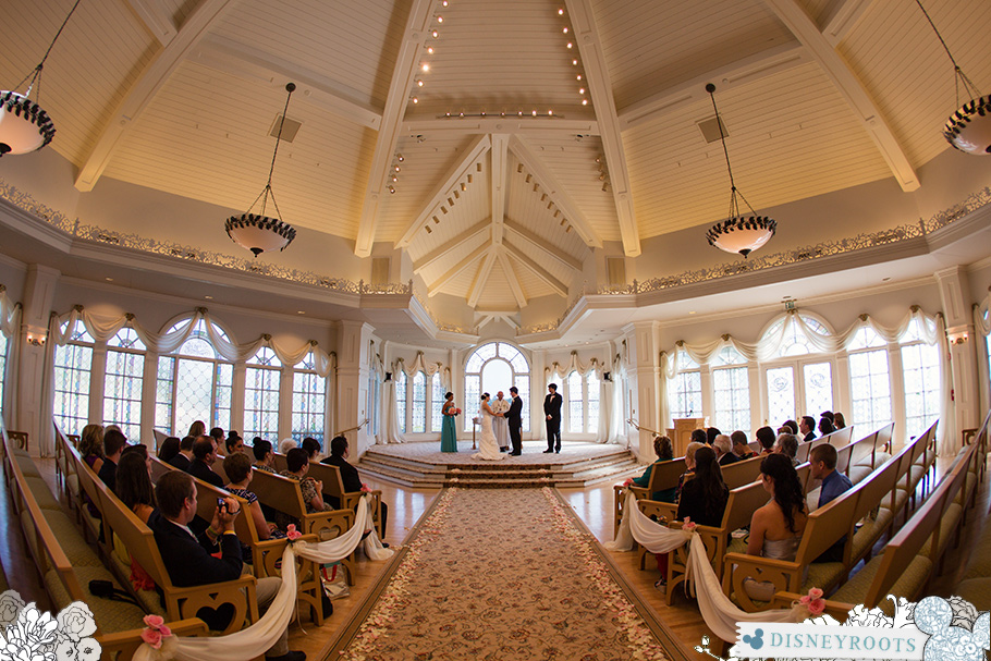 Walt Disney World Grand Floridian Wedding Pavilion