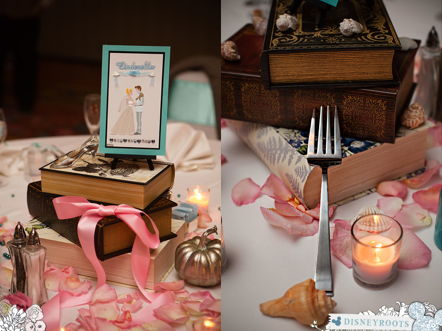 Disney Inspired Wedding Centerpiece Dinglehopper