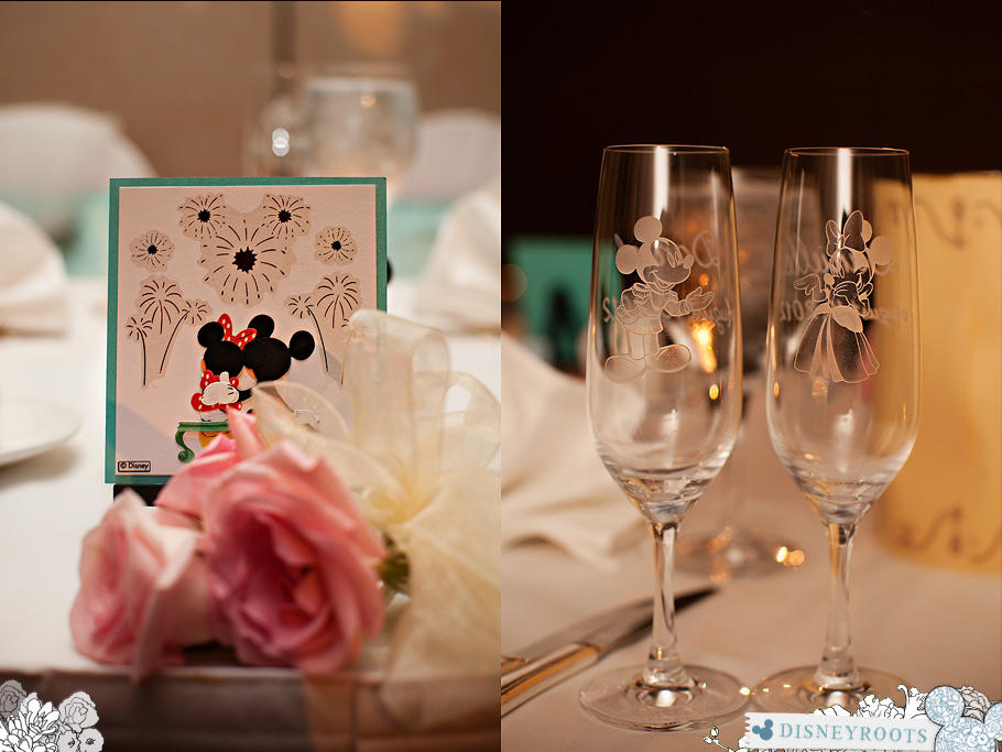 Disney Inspired Wedding Centerpiece