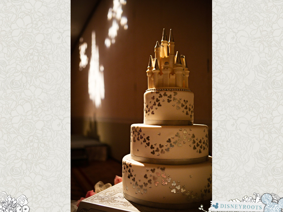 Disney Wedding Chocolate Cake Topper