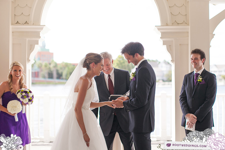Walt Disney World Boardwalk Inn Sea Breeze Point Wedding