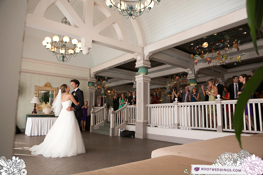 Walt Disney World Beach Club Ariel's Wedding Reception