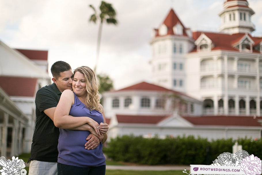 Disney World Grand Floridian Engagement Session