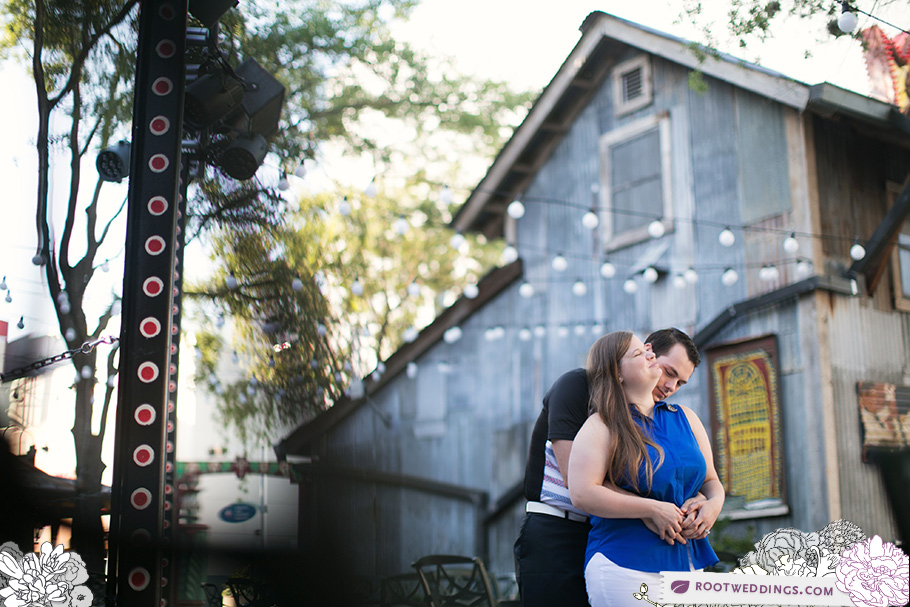 Downtown Disney House of Blues Engagement Session