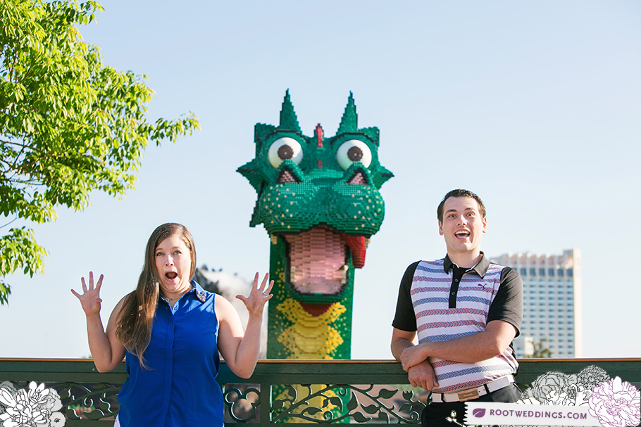 Downtown Disney Lego Store Dragon