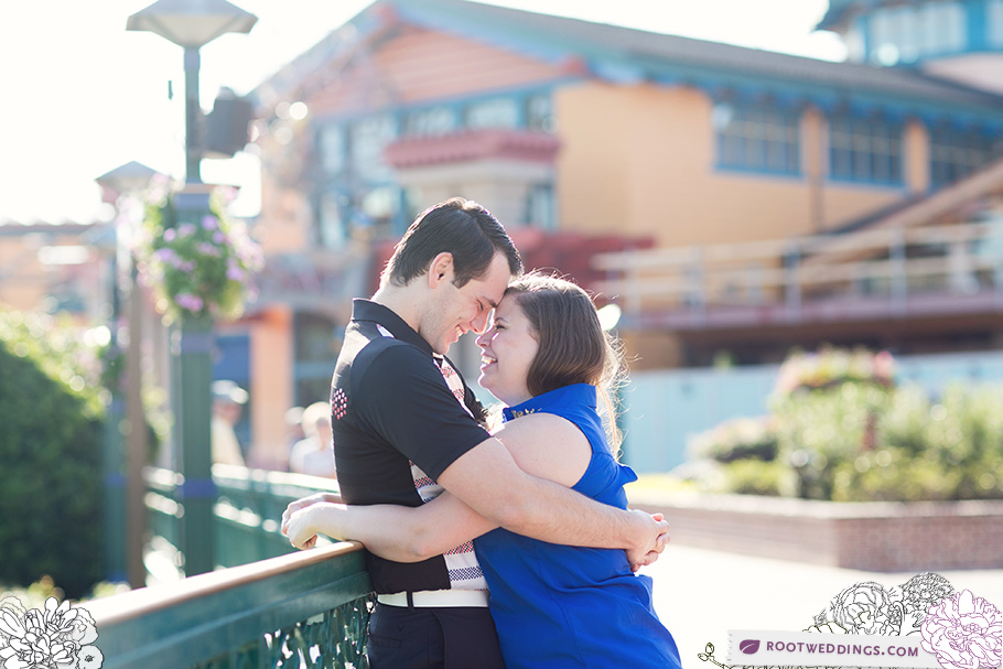 Downtown Disney Springs Engagement Session