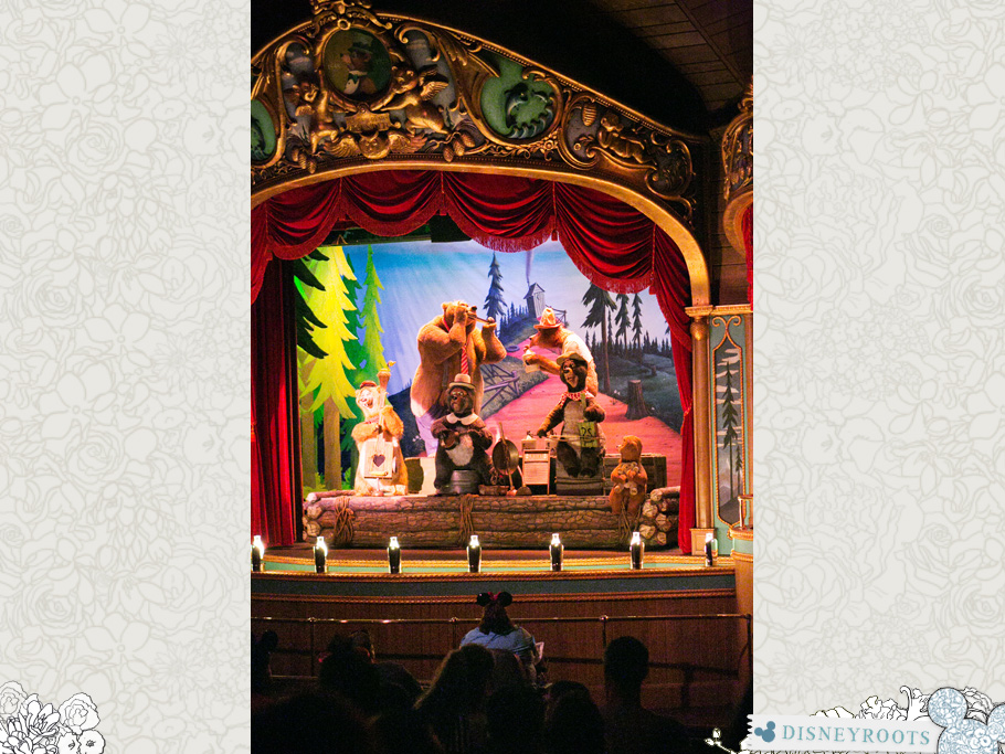 Country Bear Jamboree Walt Disney World